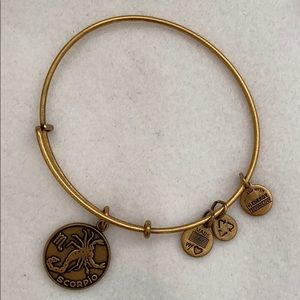 Gold Scorpio Alex and Ani Bracelet